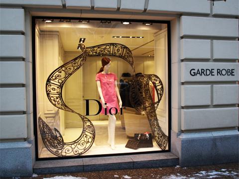 Retail Display Dior