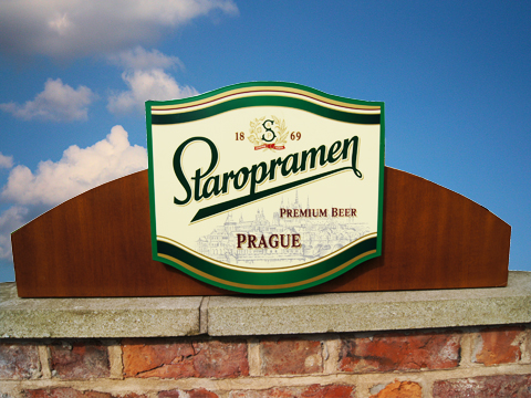 Staropramen Projecting Sign