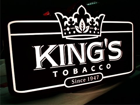 King's Projecting Sign